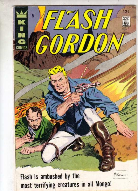 Flash Gordon #5 (May-67) VF/NM High-Grade Flash Gordon