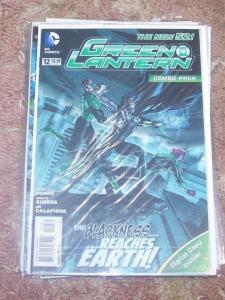 GREEN LANTERN # 12  COMBO PACK EDITION . NEW 52  black hand