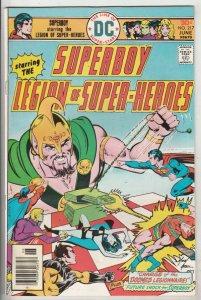 Superboy #217 (Jun-76) VF High-Grade Superboy, Legion of Super-Heroes