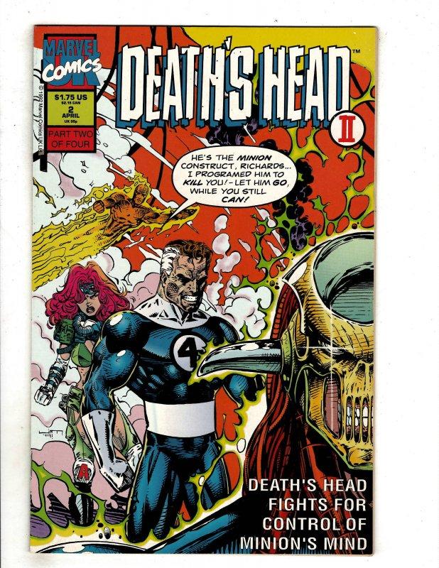 Death's Head II (UK) #2 (1992) YY7