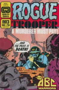 Rogue Trooper (1st Series) #3 VF/NM; Fleetway Quality | save on shipping - detai