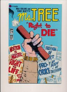 Renegade Press Comics MS. TREE #22 ~ VF/NM 1985 (HX746A2)
