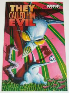 They Called Him Evil #1 VF DOUG TENNAPEL COMIC BEFORE EARTHWORM JIM - rare