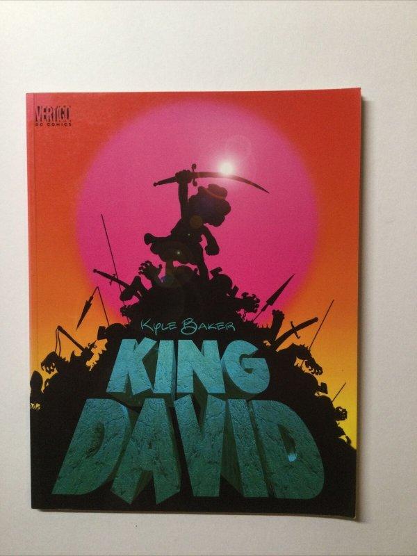 King David Softcover Sc Near Mint- 9.2 Kyle Baker Dc Vertigo