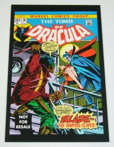 Tomb of Dracula #10 VF marv wolfman - gene colan  first appearance of blade 2005