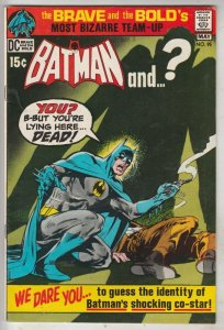 Brave and the Bold, The #95 (May-71) VF+ High-Grade Batman, Plastic Man