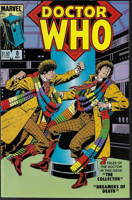 Doctor Who #8 (Marvel, 1985) NM
