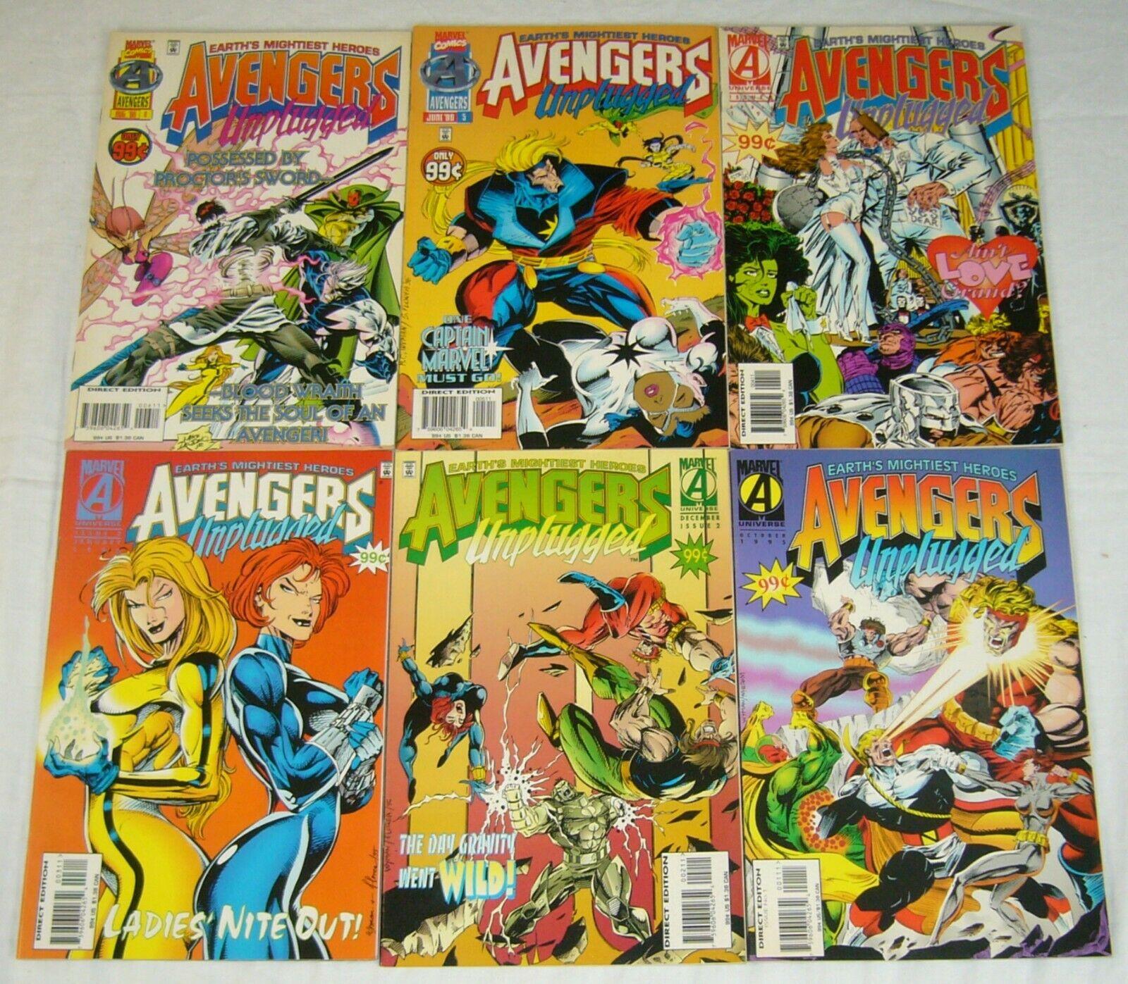 of 6 USA, 1995 Avengers Unplugged # 1