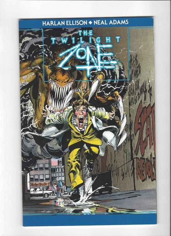 TWILIGHT ZONE ~ Harlan Ellison and Neal Adams ~ One-Shot ~ Now Comics, 1991 NM/M