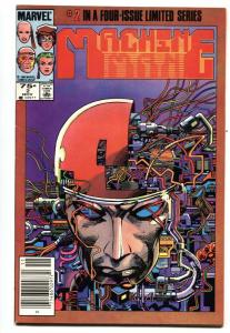 Machine Man #2 1984 Second issue-Marvel-Iron Man