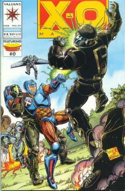 X-O Manowar (1992 series) #25, NM + (Stock photo)