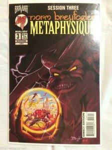 METAPHYSIQUE #3, NM, Norm Breyfogle, 1995, Bravura, Malibu