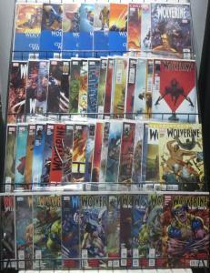 WOLVERINE MODERN COLLECTION! 52 issues! Ramos! Loeb! Jason Aaron! Marvel VF-NM