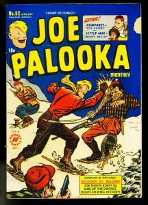 Joe Palooka #52 1951- Harvey Comics- Ham Fisher- G