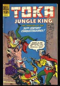 Toka Jungle King #8 1st Print