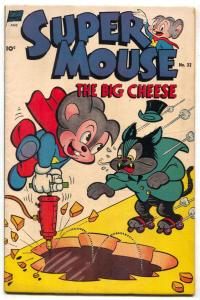 Supermouse #32 1954- Golden Age Funny Animal comic FN