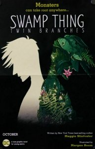 Swamp Thing Twin Branches Folded Promo Poster (17 x 11) New! [FP33]