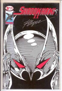 SHADOWHAWK II (1993 IM) 3 (2.95 CVR;W/CERT) VF-NM FOLD COMICS BOOK