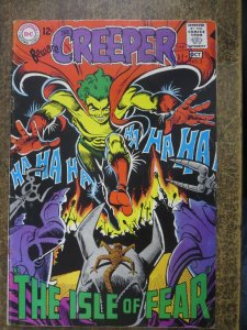 CREEPER  (Beware the) 3 G-VG October 1968   Ditko COMICS BOOK