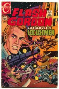 Flash Gordon #18 1970- Charlton- Locustmen VG-