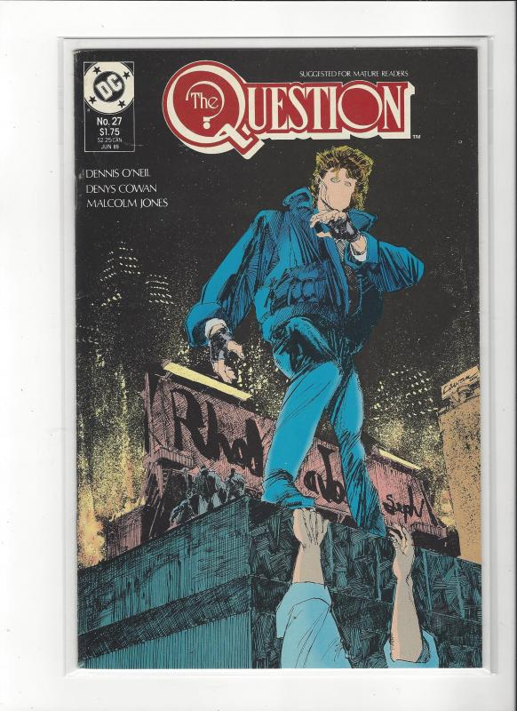 The Question #27 Mature Readers VF/NM Nice Copy