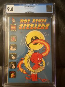 Hot Stuff Sizzlers #50 CGC 9.6 NM+ 1972 Harvey Comics Giant Size Highest Graded