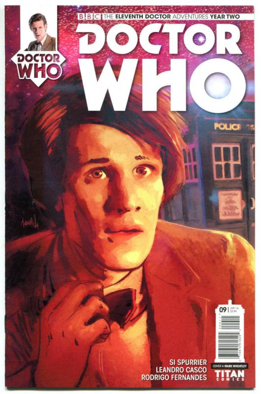 DOCTOR WHO #9 A, NM, 11th, Tardis, 2015, Titan, 1st, more DW in store, Sci-fi