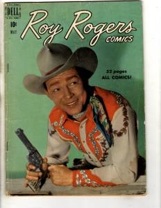 Roy Rogers Comics # 29 VG/FN Dell Golden Age Comic Book Trigger 1950 JL18
