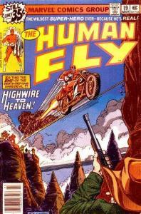 Human Fly (1977 series) #19, VF+ (Stock photo)