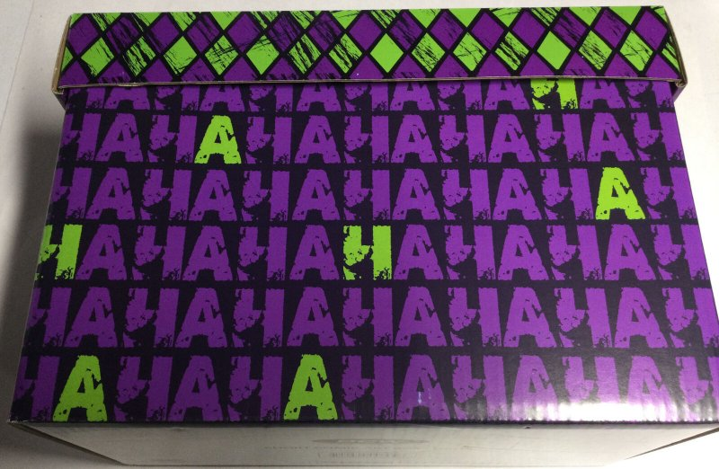 BCW Short Comic Art Box HAHA Joker Purple Green