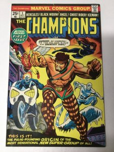 Champions 1 Vf Very Fine 8.0 Marvel