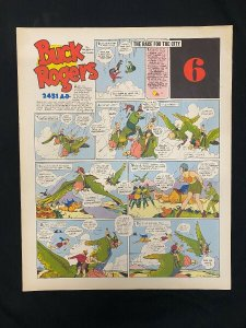Buck Rogers #6- Sunday pages No. 61-72 - large color reprints