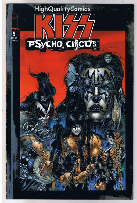 KISS PSYCHO CIRCUS 9, NM-, Rock 'n Roll, Gene Simmons, 1997, more in store