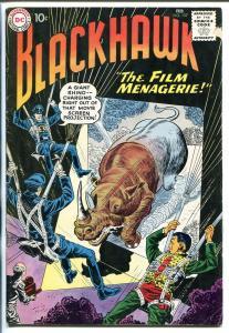 BLACKHAWK #157 1960-DC-PARACHUTE COVER-vg minus