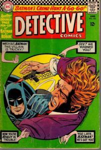 DETECTIVE 352 GOOD PLUS June 1966
