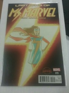 MS. MARVEL #19 (MARVEL COMICS, 2015) NW61