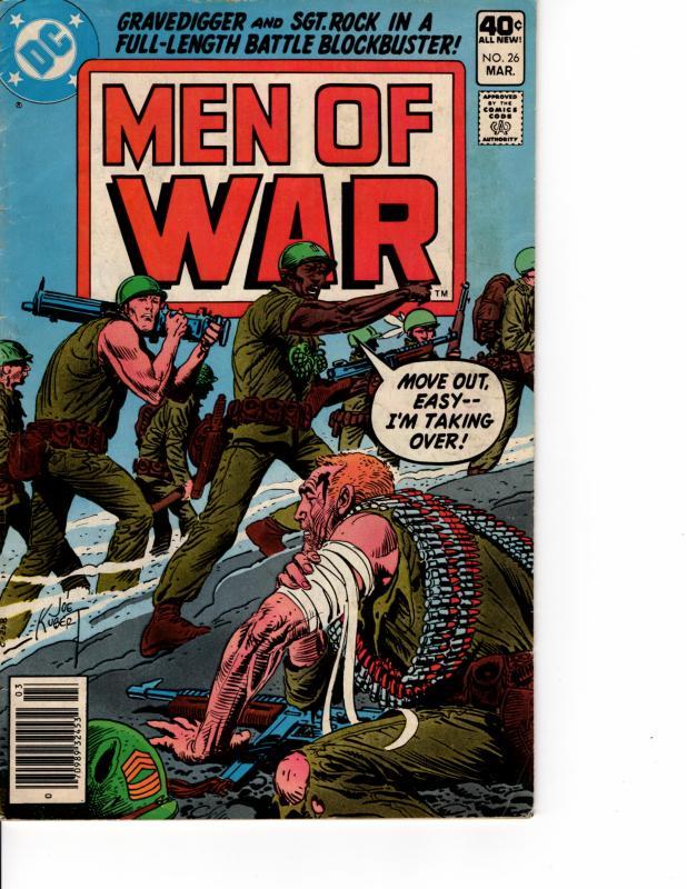 Men of War #26  (1977 Series) #26 MAR 1980 FN+ KEY ISSUE