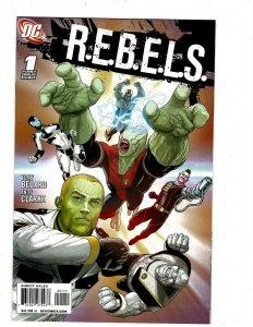 12 DC Comics R.E.B.E.L.S. 1 2 3 10 11 12 13 14 Outsiders 15 16 19 39 J431