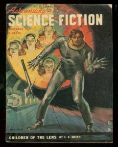 ASTOUNDING SCIENCE-FICTION NOV 1947-L RON HUBBARD-very good plus VG+