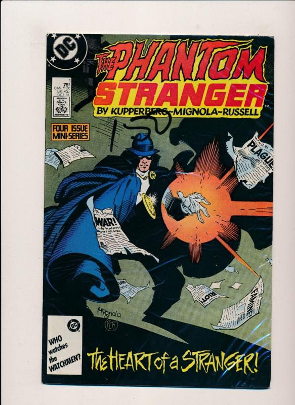 DC Lot of 4 THE PHANTOM STRANGER & #26,3,2,1 VG/F/VF (PF88)