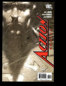 7 DC Action Comics # 844 845 846 847 851 '08 Green Lantern 43 Blackest Night SM2