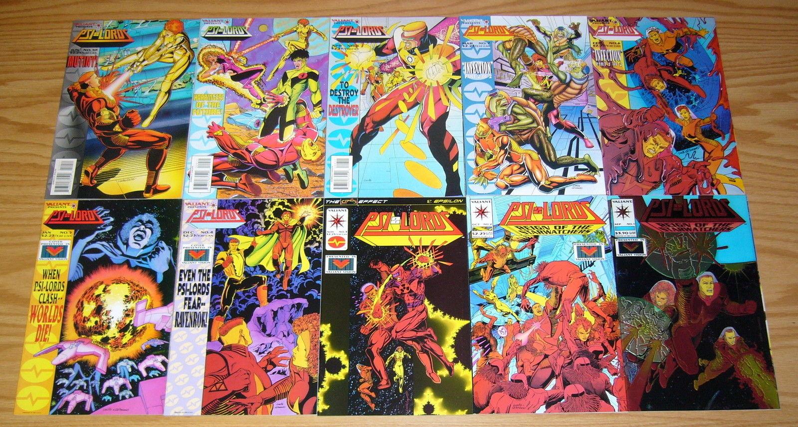 LORDS   # 6 1995-8.5 COMIC PSI