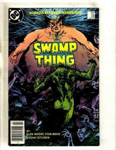 Swamp Thing # 38 VF DC Comic Book Alan Moore Justice League Batman Flash WS9