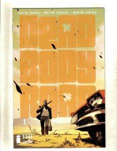 Lot Of 6 Dead Body Road Image Comic Books # 1 2 3 4 5 6 Justin Jordan RP4