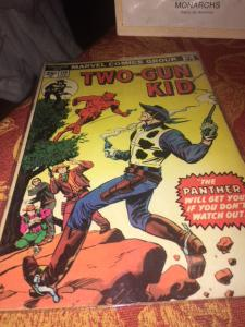 Two Gun Kid #119 Kirby Black Panther Precursor