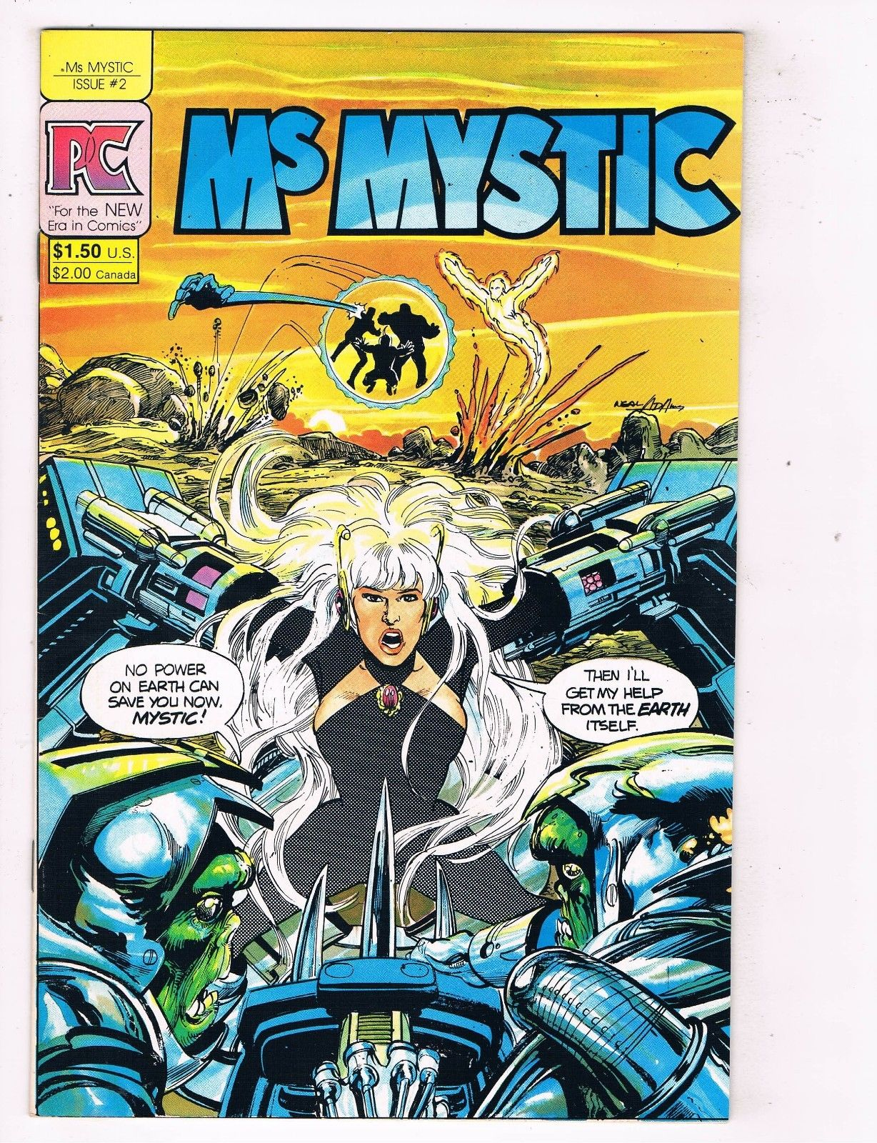 Mystic #2 FN 1984 Stock Image Ms