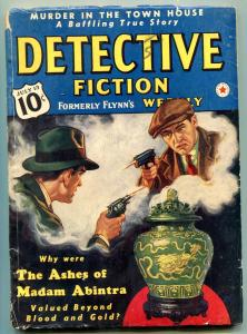 Detective Fiction Weekly Pulp July 13 1940- Green Lama- Ashes of Madam Abintra