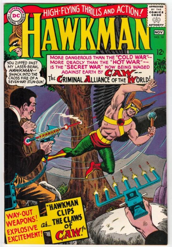 Hawkman #10 (Nov-65) VF+ High-Grade Hawkman