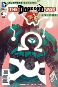 Justice League: Darkseid War: Lex Luthor #1, NM + (Stock photo)