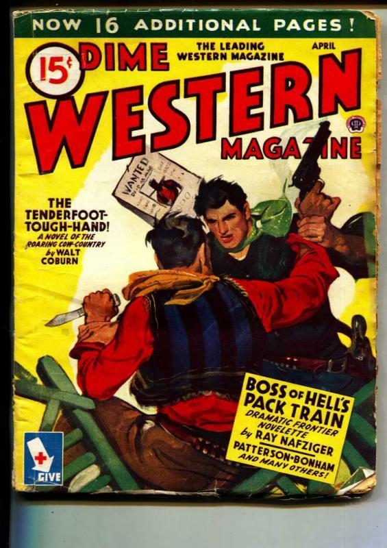 Dime Western-Pulp-5/1945-Rod Patterson-Walt Coburn